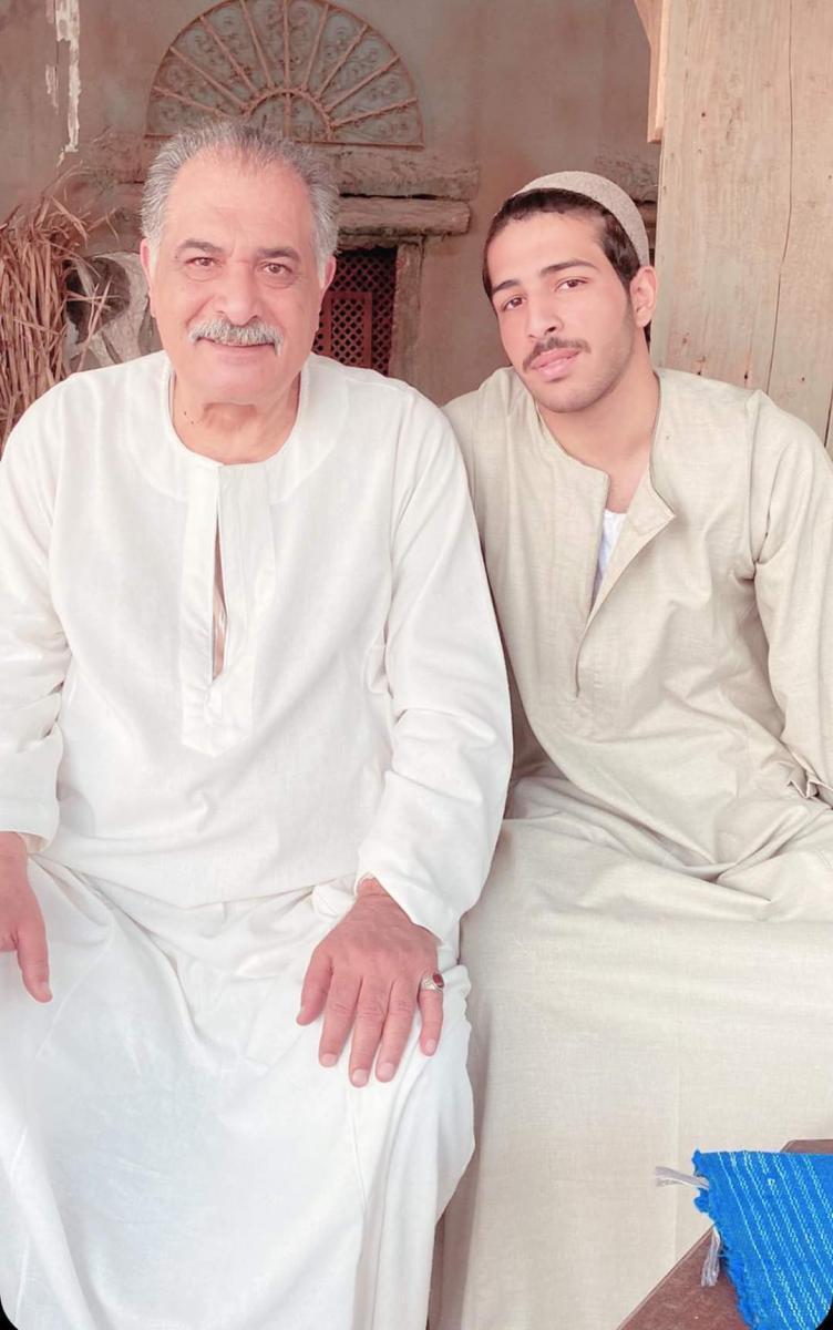 حفيد محمود ياسين لأول مرة في دراما رمضان Et بالعربي