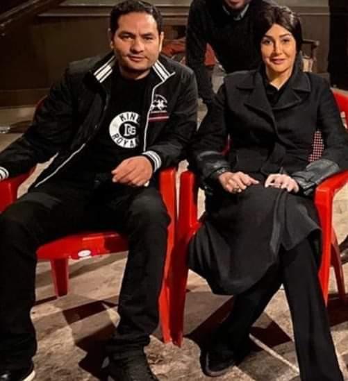 غادة عبد الرازق وزوجها